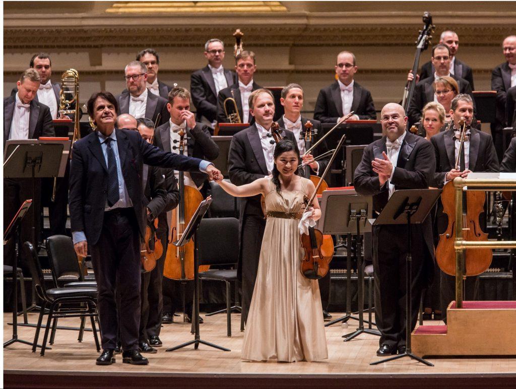 Concerto per violino Natura naturans, con Haruca Nagao e Balázs Kocsár, Orchestra dell'Opera di Budapest, Carnegie Hall, 2018