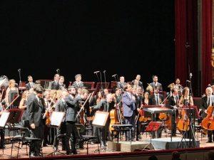 Concerto per violoncello e orchestra, con Enrico Dindo, Petruzzelli di Bari, 2018