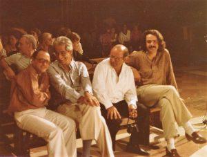 Perugia 1978 con Bussotti (primo a sinistra )