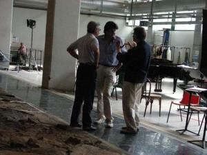 con Roberto Abbado ed Ermanno Olmi, Teneke, Scala -2007