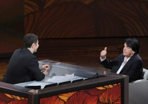 Con Fabio Fazio a Che tempo che fa - 2011